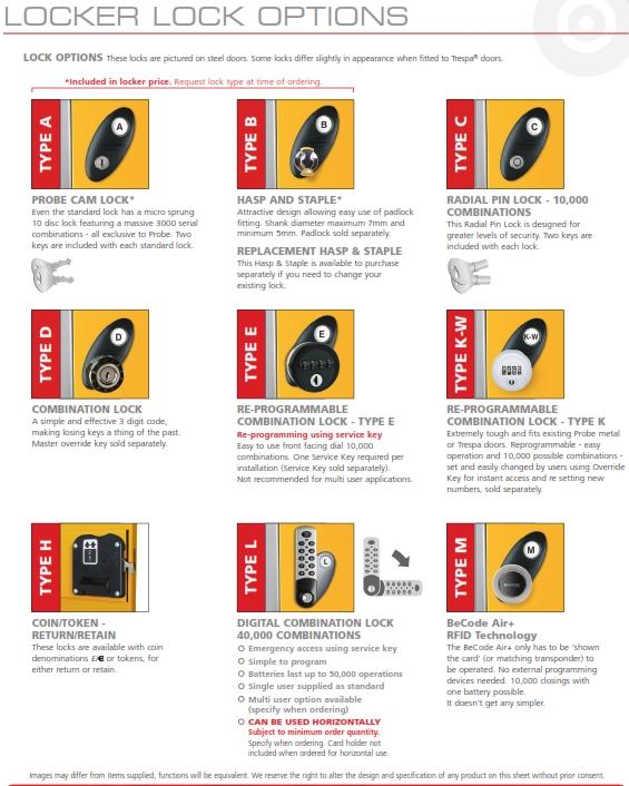 Lock Types