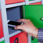 Mobile Phone Storage Lockers
