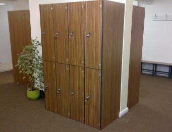 Solid Grade Laminate Lockers SGL Doors & Body