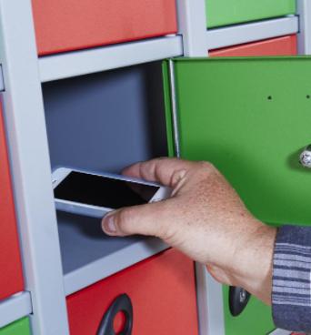 School Mobile Phone Lockers - Non Charging