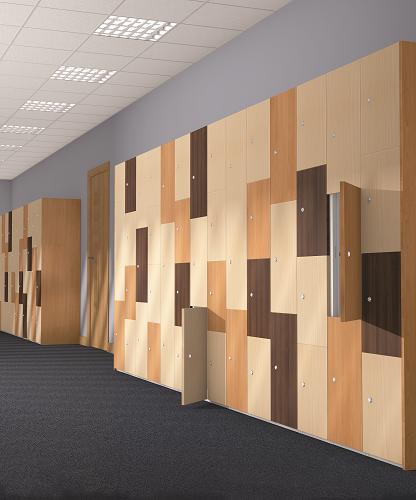 Timber Effect MFC Door Lockers