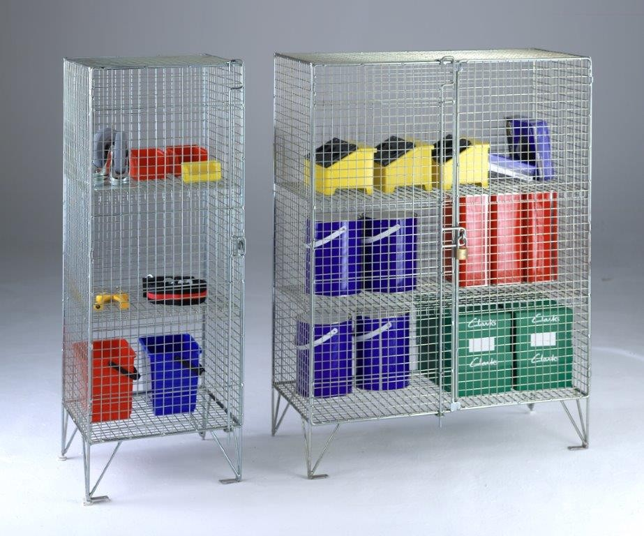 Wire Mesh Cupboards