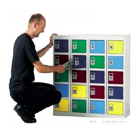 20 Compartment Personal Effects Locker