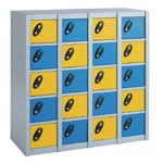 20 Compartments Personal Effects Locker 2