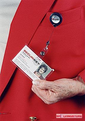 Mini ID Badge / Swipe Card Keyreel