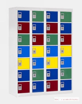 28 Compartment Personal Effects Locker