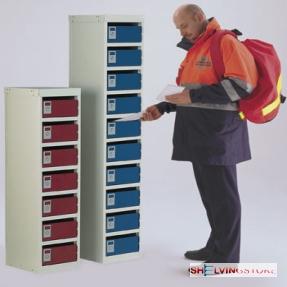 Post Box locker Ten Compartments
