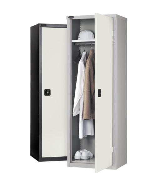 Industrial Slim Wardrobe Cupboard