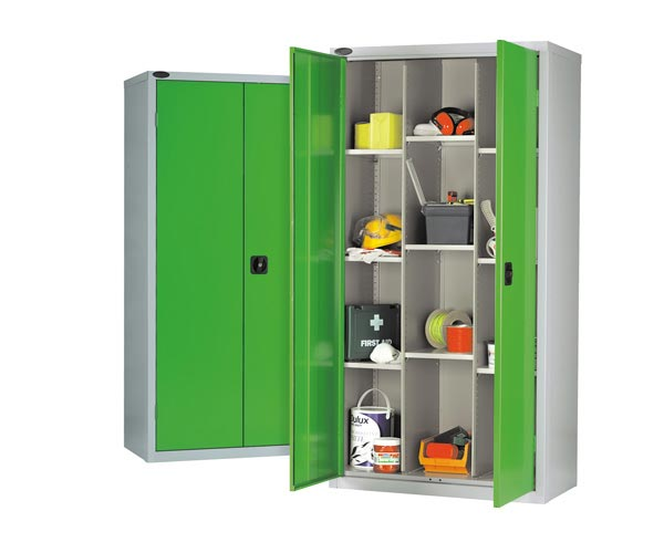 12 Compartments Industrial Cupboard