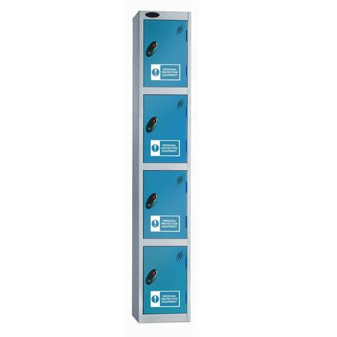 Four Compartments PPE locker