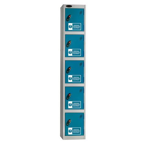 Five Compartments PPE Locker