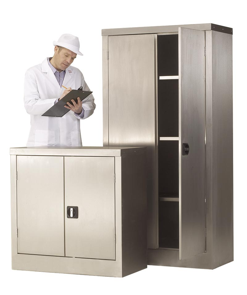 Stainless Steel Cupboard 1800 x 1200 x 460
