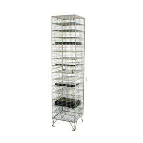 One Door Fifteen Compartment- Wiremesh Laptop Locker
