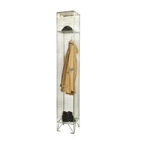 1 compartment wire mesh