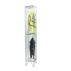 2 compartments wire mesh