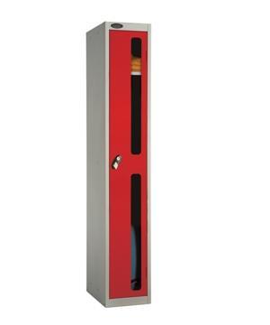 One Door Vision Panel Locker