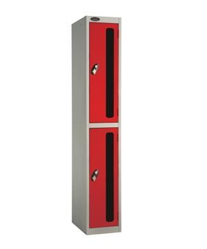 Two Doors Vision Panel Locker