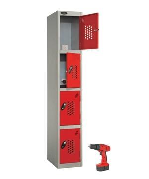 Four Doors Power tool recharge Locker