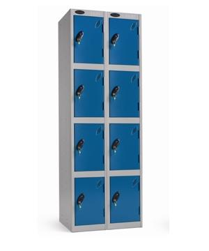 School Value Four Doors Locker - Nest of 2