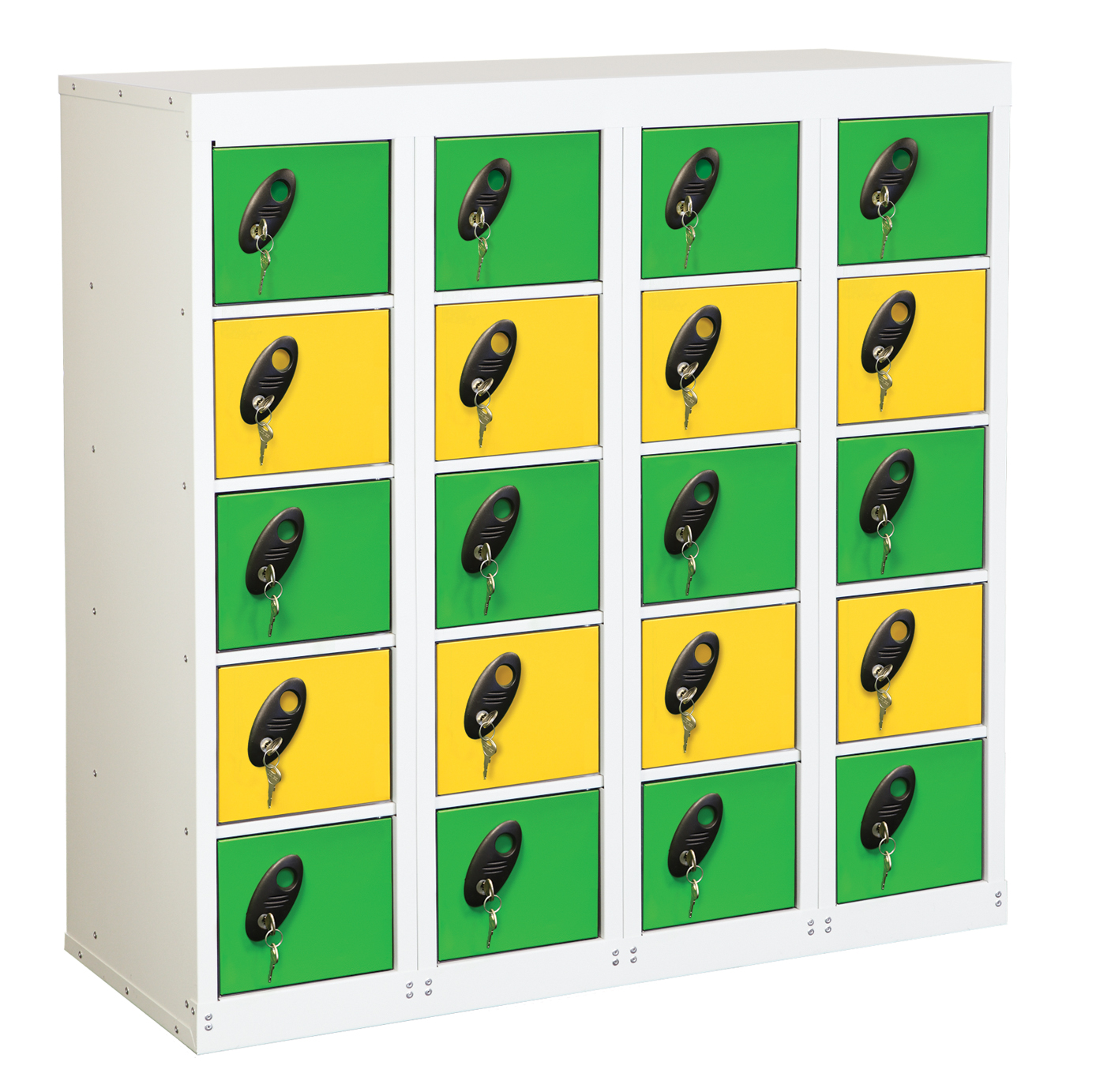20 Compartments Personal Effects Locker