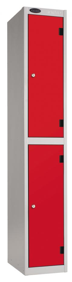 2 Tiers Inset Laminate School Locker