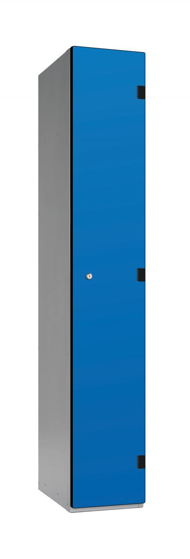 1 Tier Overlay Laminate School Locker