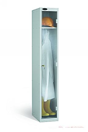 One Door Clear View Anti Stock Theft Locker