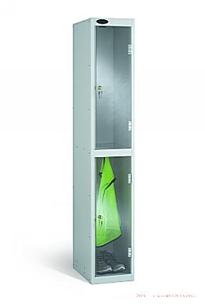 Two  Door Clear View Anti Stock Theft Locker
