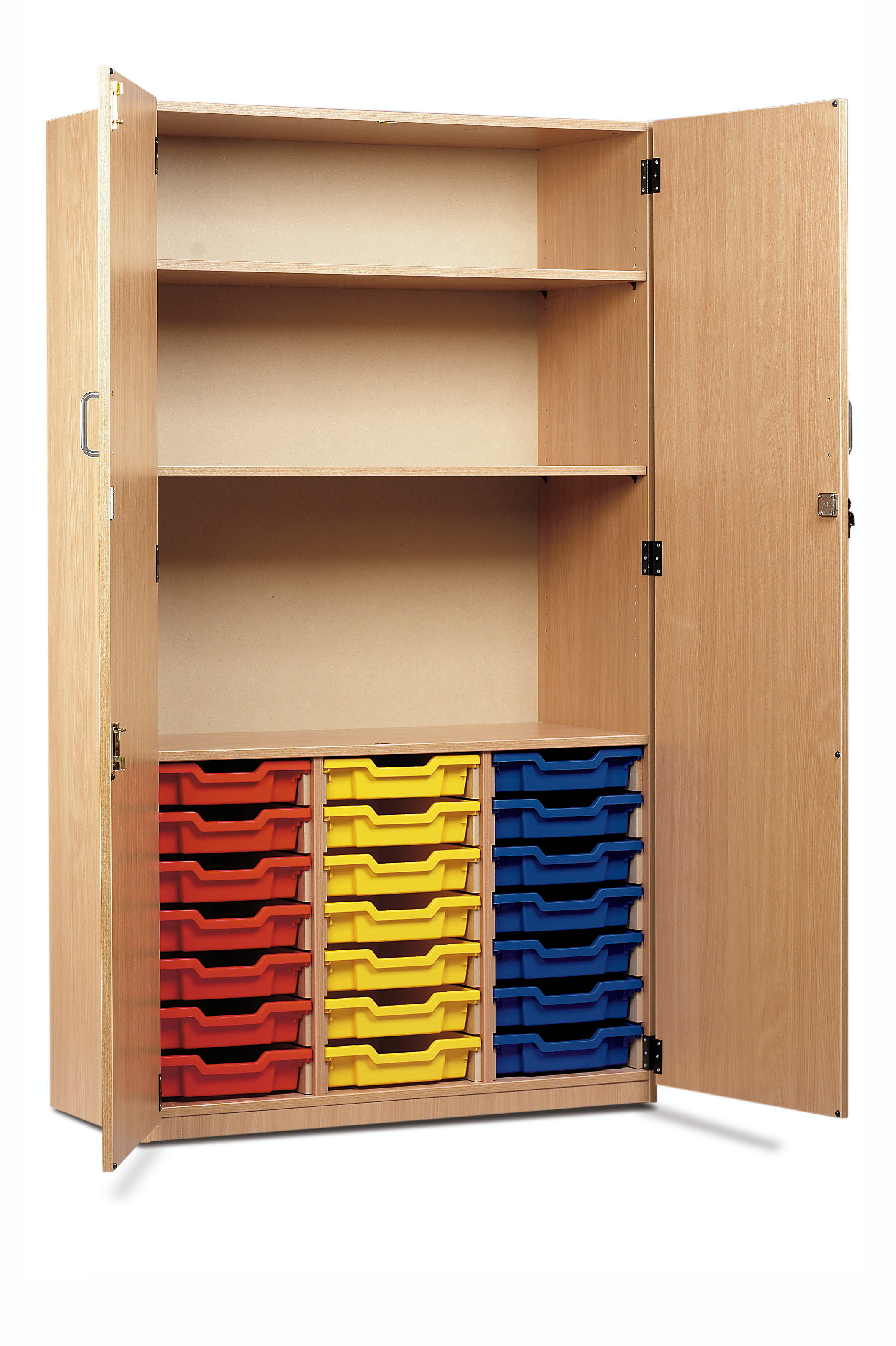 Shallow Tray Storage Cupboard