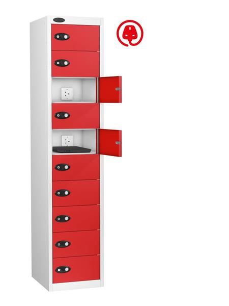 10 Door Mobile Phone Charging Locker