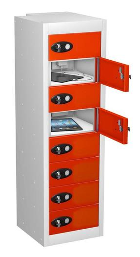 8 Door Mobile Phone Charging Locker