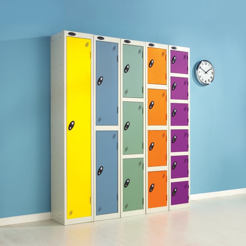 Colour Range Two Doors Locker