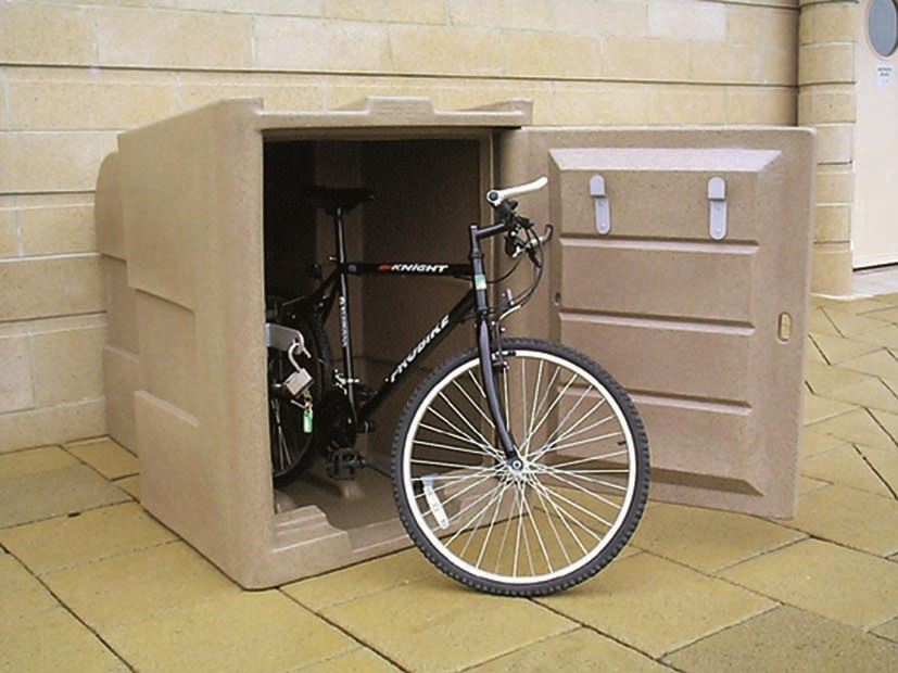 Outdoor Bicycle Locker