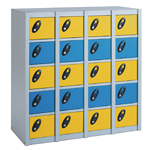 20 Compartments Personal Effects School Locker