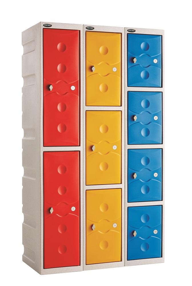 Two Doors Water Resistant Lockers