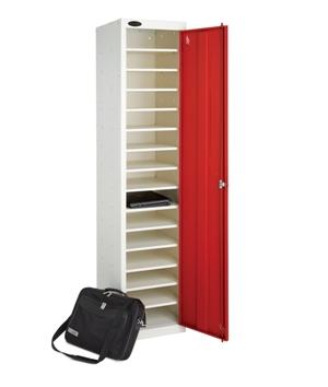 Single Door 15 Shelf School Laptop Charging Locker