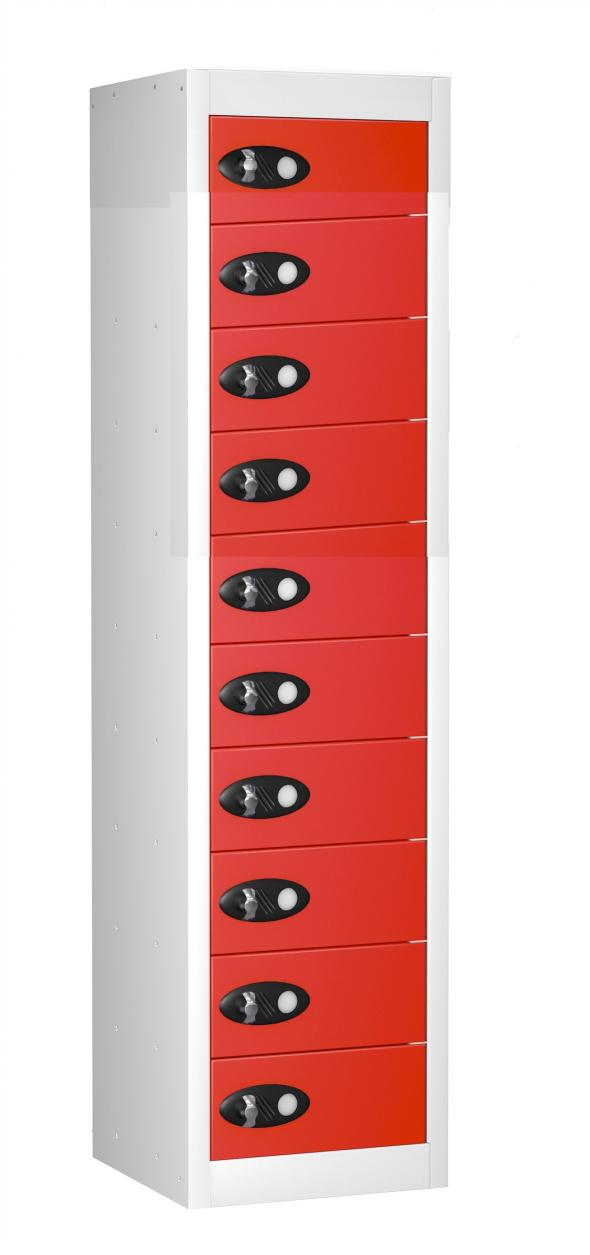 10 Compartment Mobile Phone NON Charging Locker