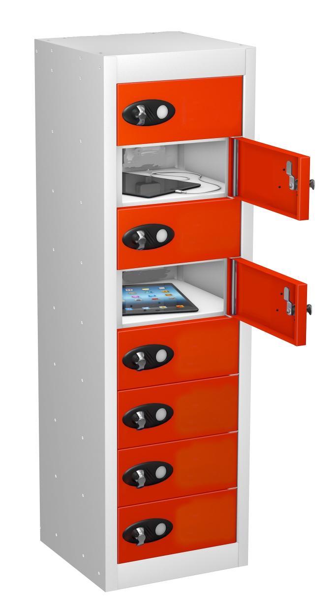 8 Door School Personal Effects NON Charging Locker
