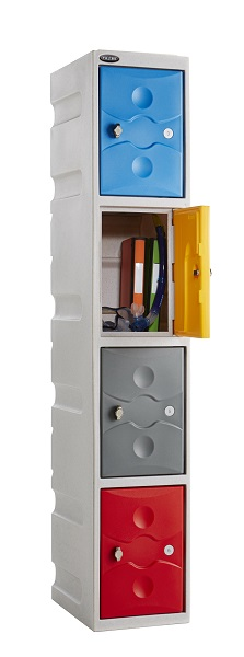 Four Doors Water Resistant School Lockers