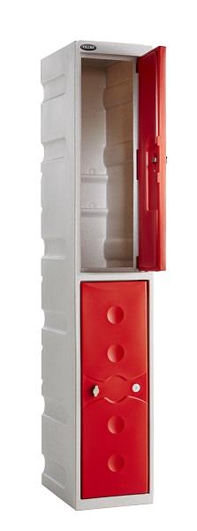 2 Doors Waterproof School Lockers