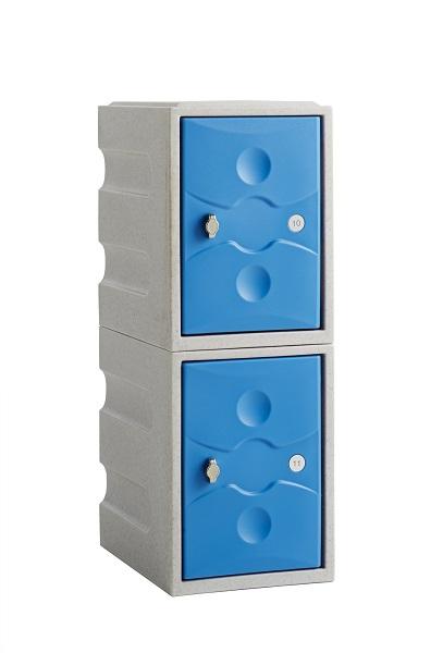 2 Doors Mini Waterproof School Lockers