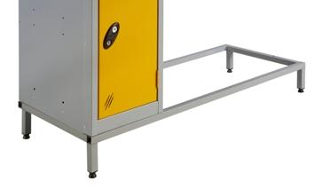 Six Doors Vision Panel Locker