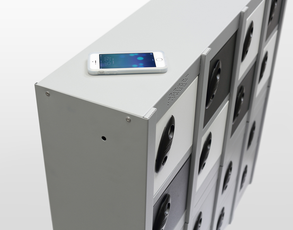 MiniBox 8 comp Multi Doors Mobile Phone Storage Locker NON CHARGING