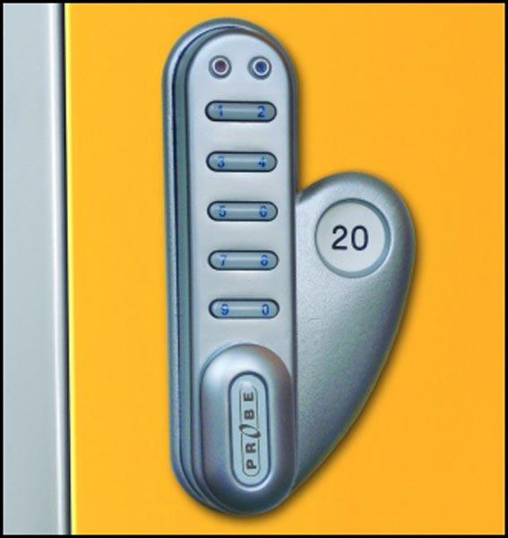 Sixteen Doors Mobile Phone Locker
