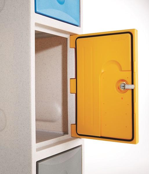 2 Doors Waterproof Lockers