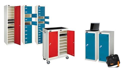Single Door 15 Shelf School Laptop Charging Locker