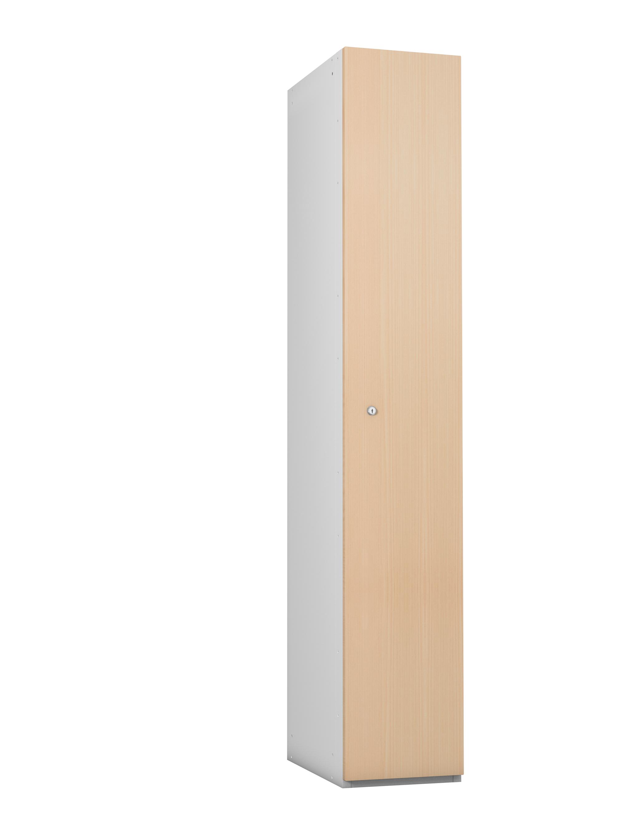 1 Compartment Timber Effect- MDF Door Locker