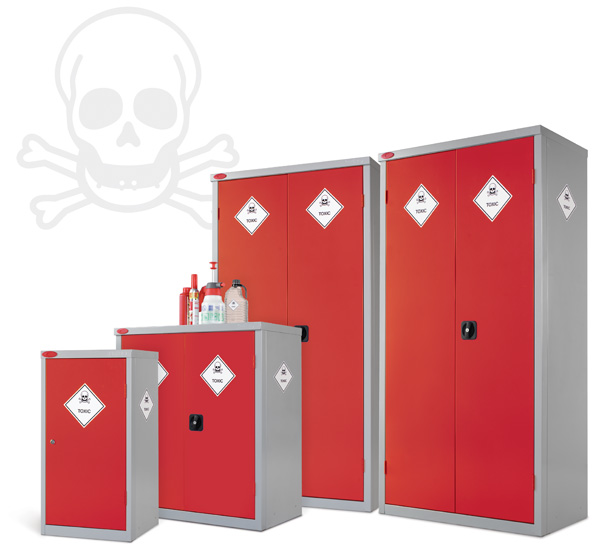Eight Compartments Toxic Cabinet