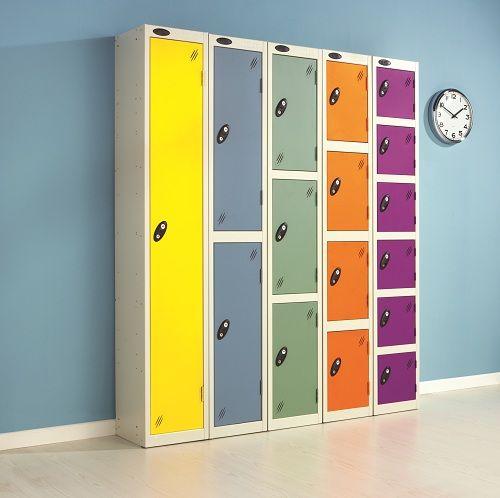Colour Range One Door Locker