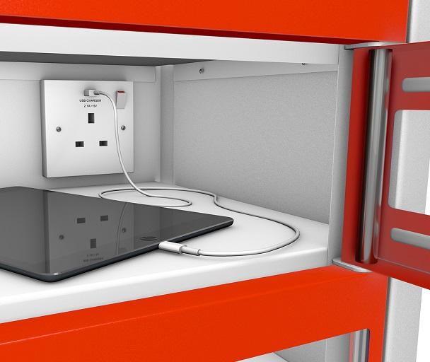 8 Door TABLET Charging Locker
